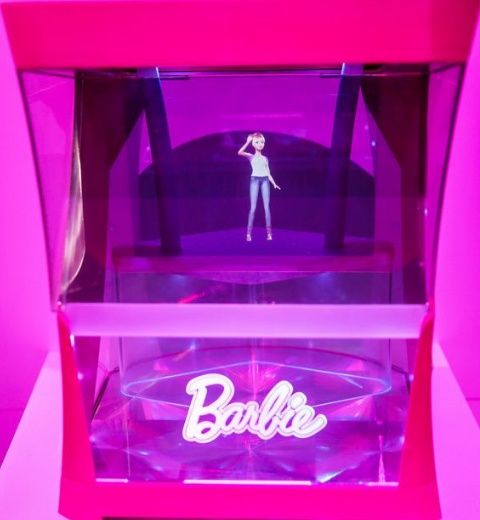 barbie-hologram